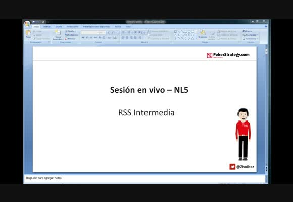RSS SH: Session en vivo NL5