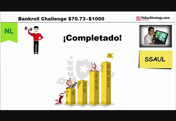 [User Video] SSAUL. BANKROLL CHALLENGE. COMPLETADO!