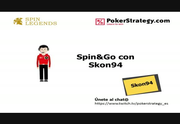 Spin&Go: Session Live en 10€ con Skon94 de SpinLegends.
