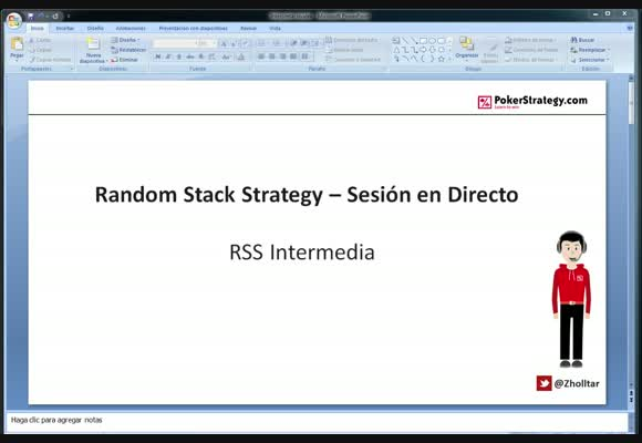 RSS SH: Session en vivo ZOOM NL5. Estrategia de Nivel Intermedio.