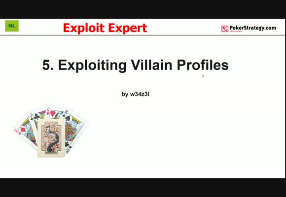 Exploit Expert - Villain Profiles (5)