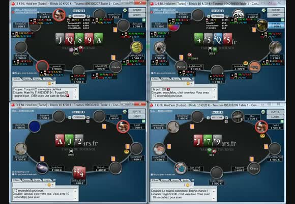 Session live: SNG turbo 1€-3€