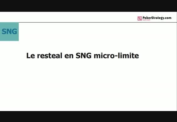 Le resteal en SnG micro-limite