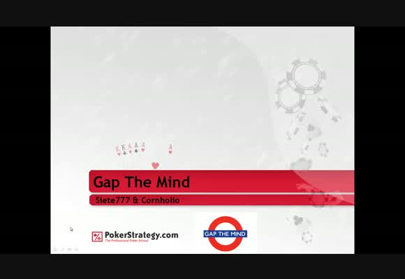 Gap the mind: 3 bet concept