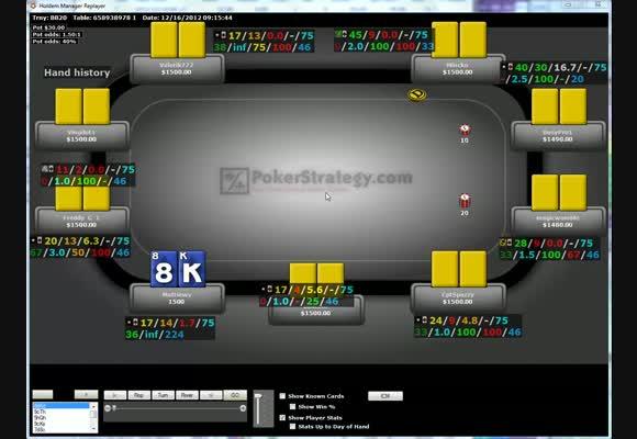 Revue de SnG d'un pokerstratège: Matthiews