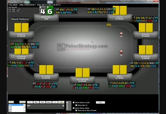 Revue de SnG d'un pokerstratège: MicMP3Man