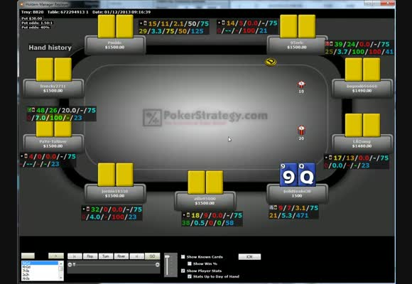 Revue de SnG d'un pokerstratège: SolidSnake38