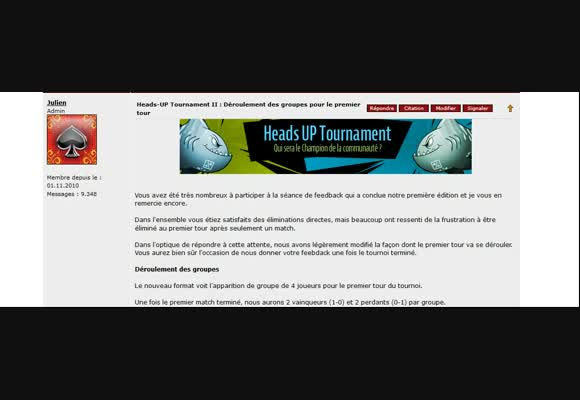 HU tournament II : erkyl VS 1ptidanslebain