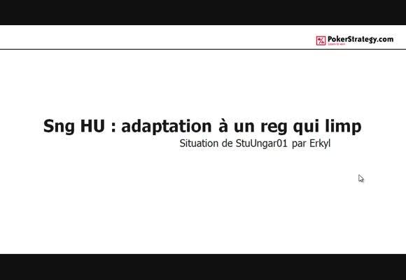 La main du jour : SNG HU adaptation à un reg qui limp