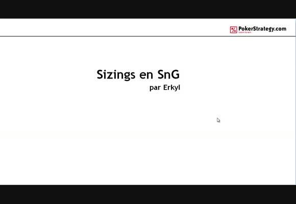 Les sizings en SNG - Théorie