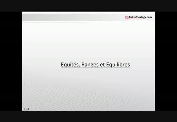 Equité, Range et Equilibre