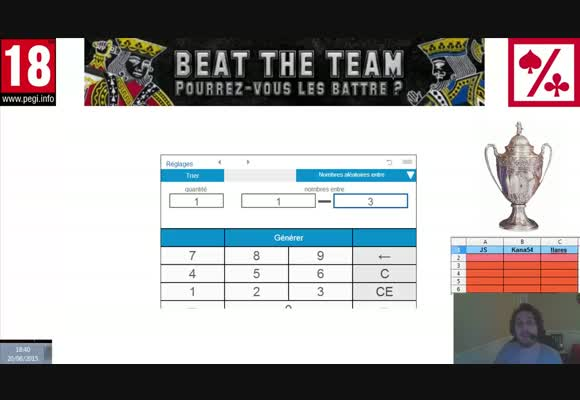 Tirage au sort beat The Team 2015