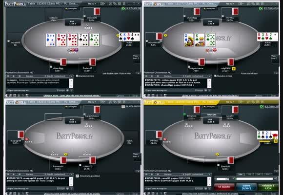 Revue de session d'un PokerStratège en PLO25 sur roomPoker.fr