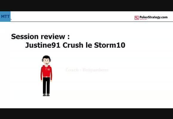 MTT:  victoire du Storm10 de Justine91