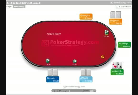 Stratégie avancée en No Limit 1000 - partie 2