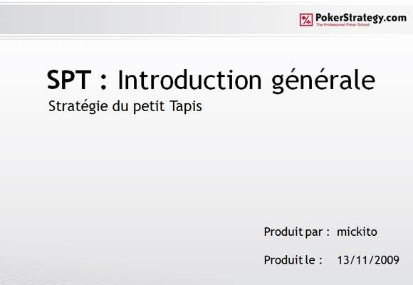 SPT : guide pour débutant