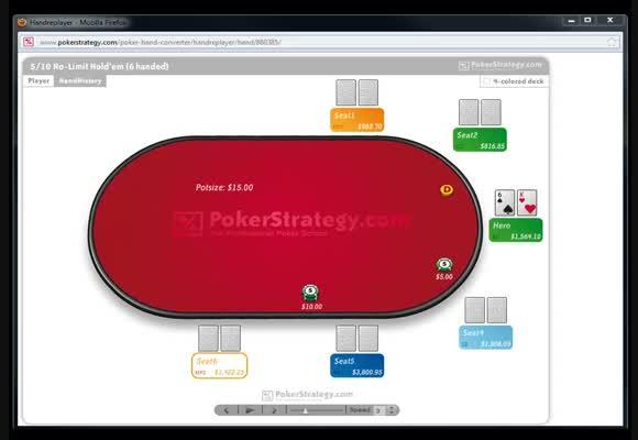 Stratégie avancée en No Limit 1000 - partie 4