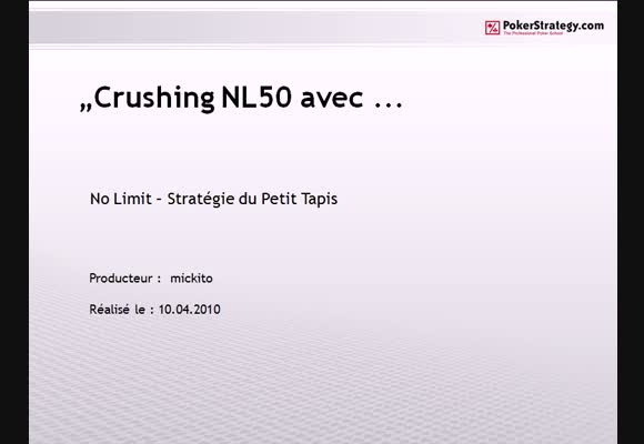 Crushing NL50 en SPT 1