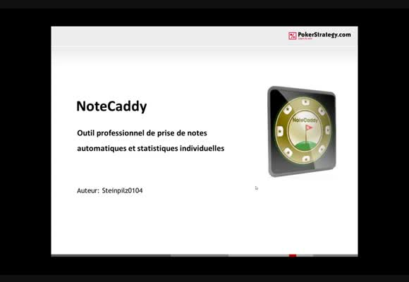 Notecaddy avancé
