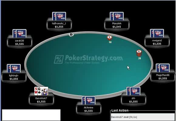 Record Breaker sur Full Tilt Poker 1ère partie