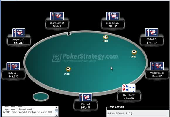Record Breaker sur Full Tilt Poker : 2ème partie