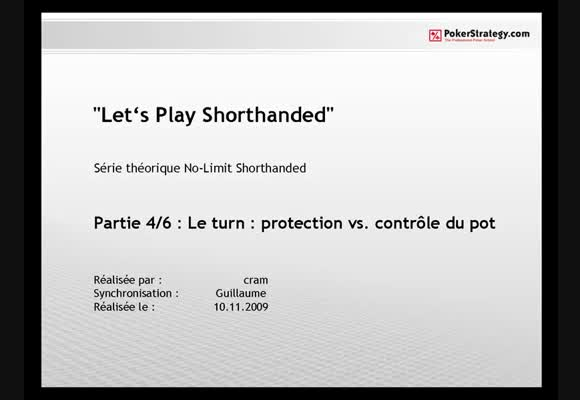 Let's play shorthanded 4/6