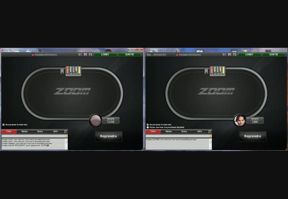 Session live en ZOOM poker