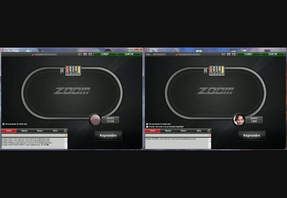 Session live en ZOOM poker