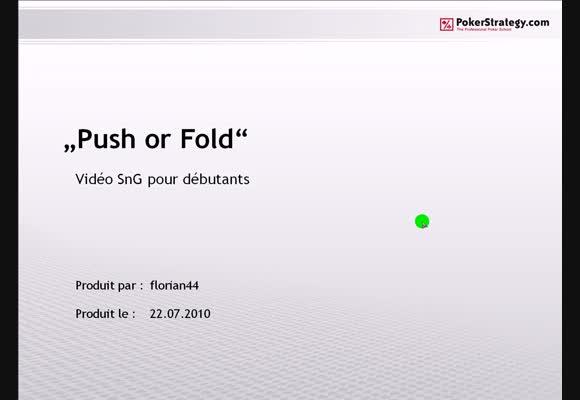 Push or Fold