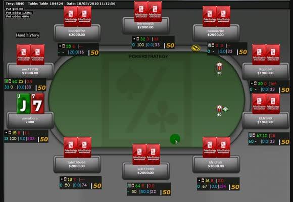 Revue de session du PokerStratège savaticra en SNG 3€
