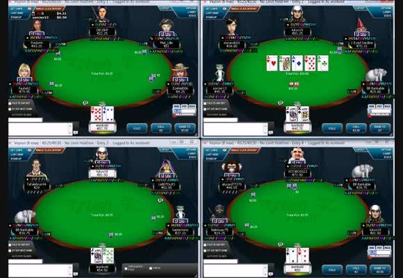 Rush Poker sur les rooms françaises