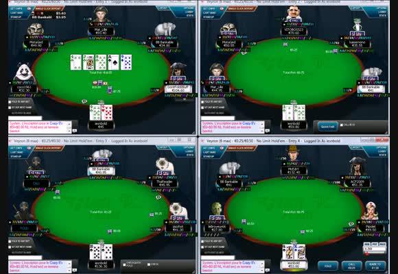 Rush Poker sur les rooms françaises 2