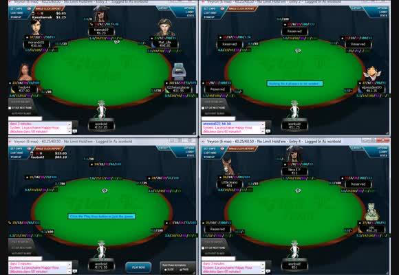 Rush Poker sur les rooms françaises 4