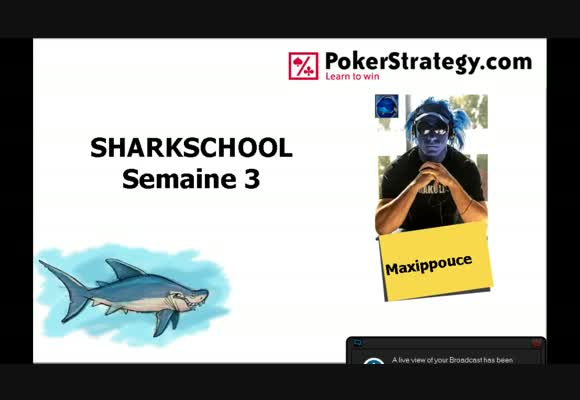 Sharkschool: coaching semaine 3