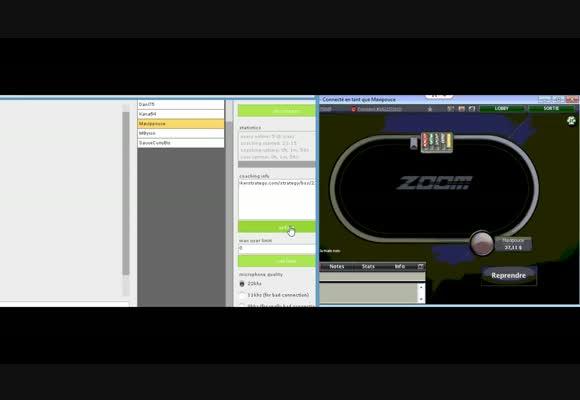 Comment se faire craquer les As: Zoom poker