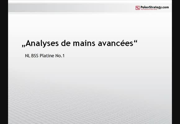 Analyses avancées : NLBSS 1