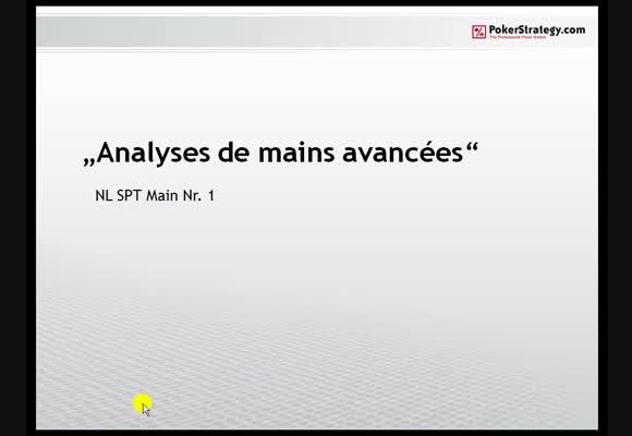 Analyses avancées : SPT Nr1