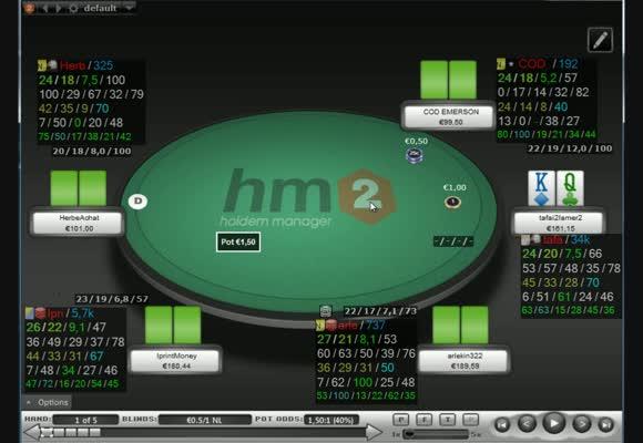 Revue de session d'un pokerstratège: Pedretti44