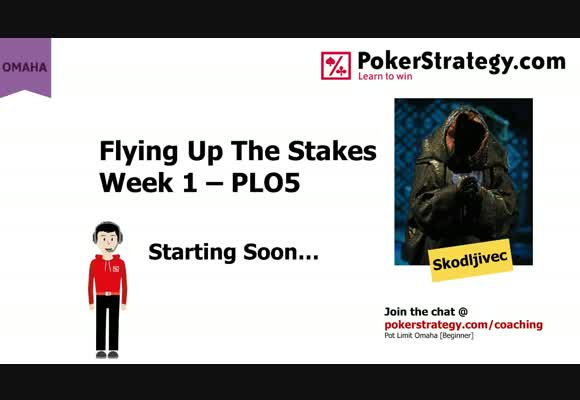 Flying Up The Stakes - Week 1 PLO5