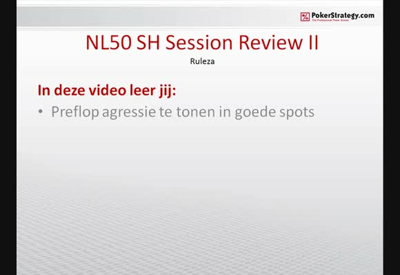 NL50 SH Sessionreview