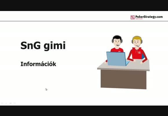 Sit and Go gimi információk
