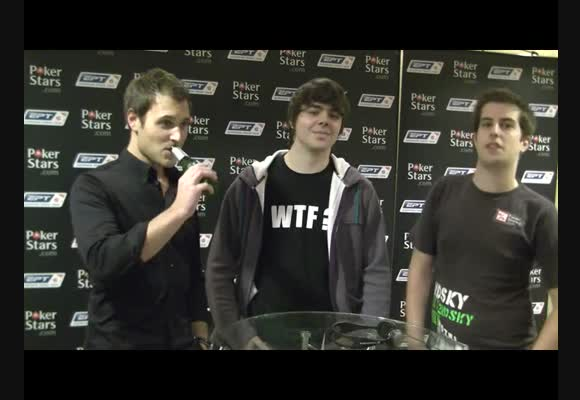 Interview with PokerNoob and Psychobenny at EPT London Day 3