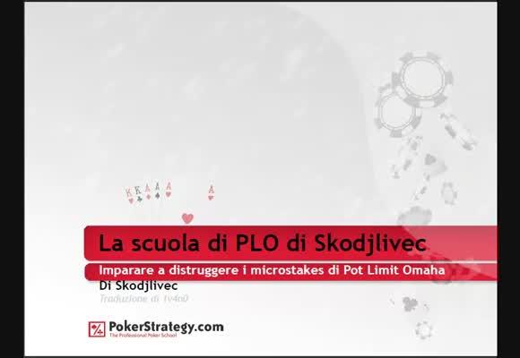 La scuola di PLO di Skodjlivec - Preflop ABC