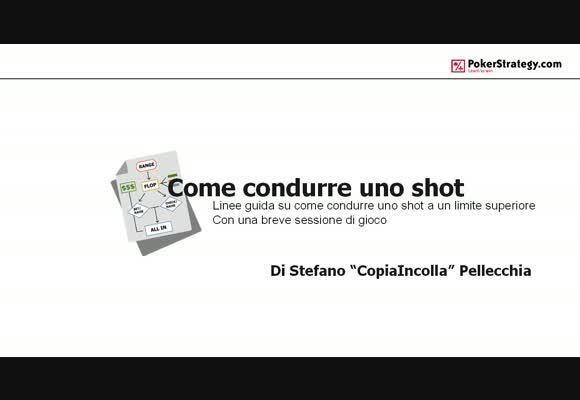 Come condurre uno shot