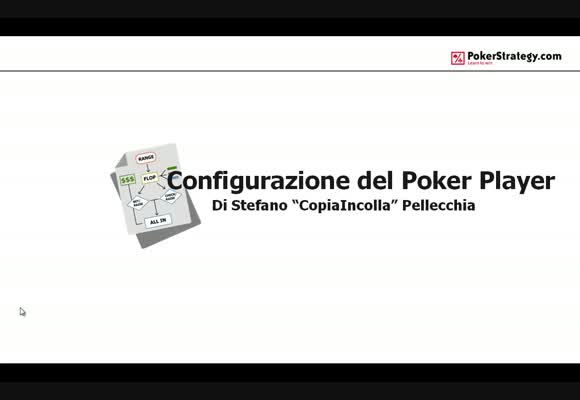 Configurazione del Poker Player - Parte 1