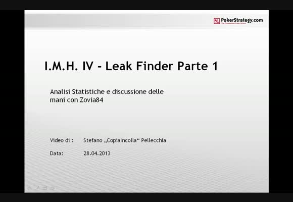 IMH4 - Leak Finder - Zovia84 - parte 1