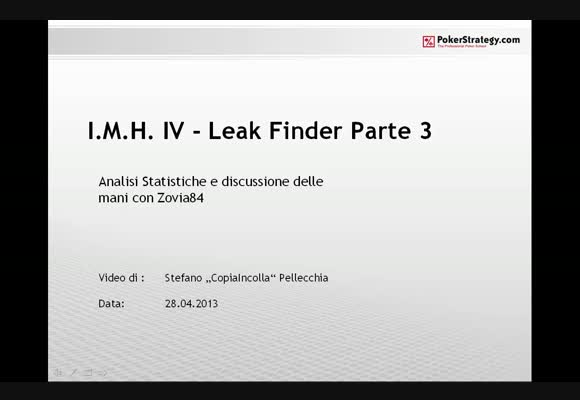 IMH4 - Leak Finder - Zovia84 - parte 3
