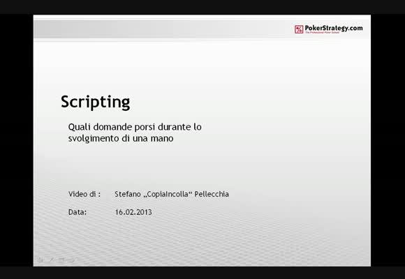 Lo Scripting - parte 1