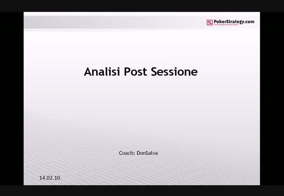 Fixed Limit - Video Seminario Analisi Post Sessione