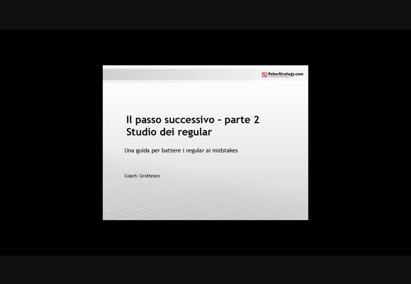 Il passo successivo - parte 2 - Studio dei regular